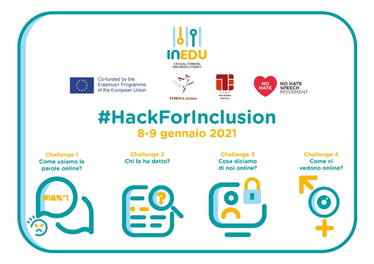 MIUR e No Hate Speech Movement Italia appoggiano il Civic Hackathon