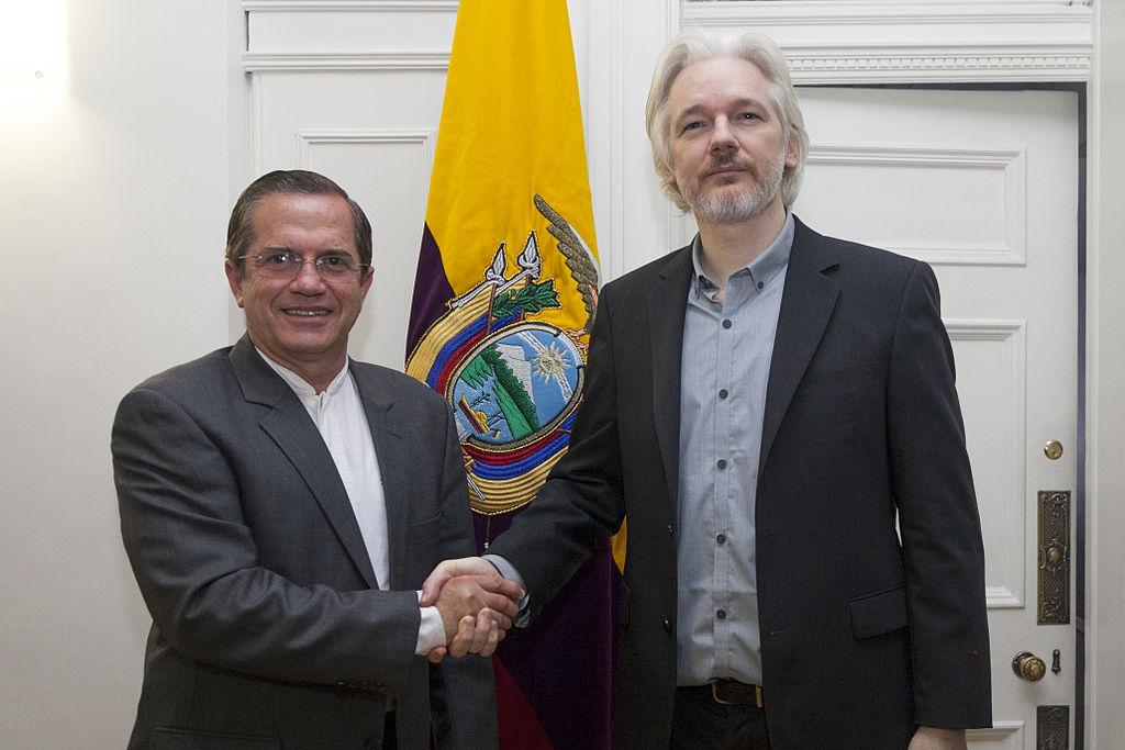 Julian Assange in Ecuador