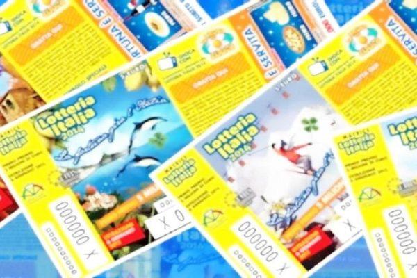 Lotteria Italia biglietti vincenti