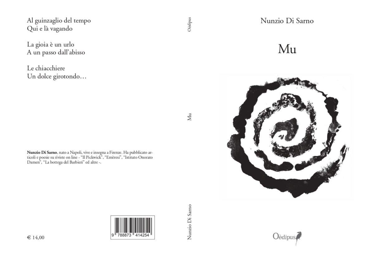 """Mu"" raccolta di Poesie di Nunzio di Sarno"