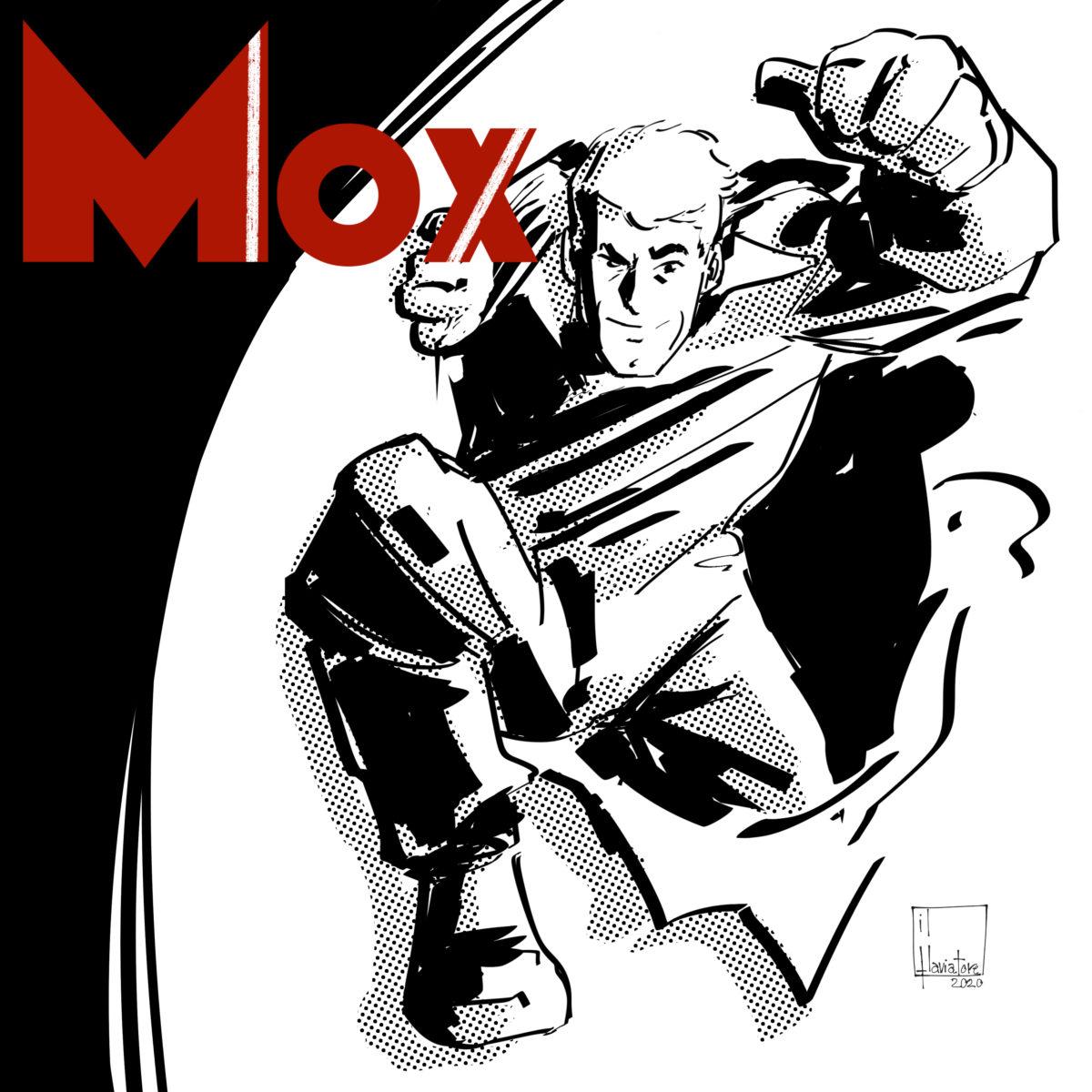 Mox,  il supereroe che porta il fumetto nella comunicazione social