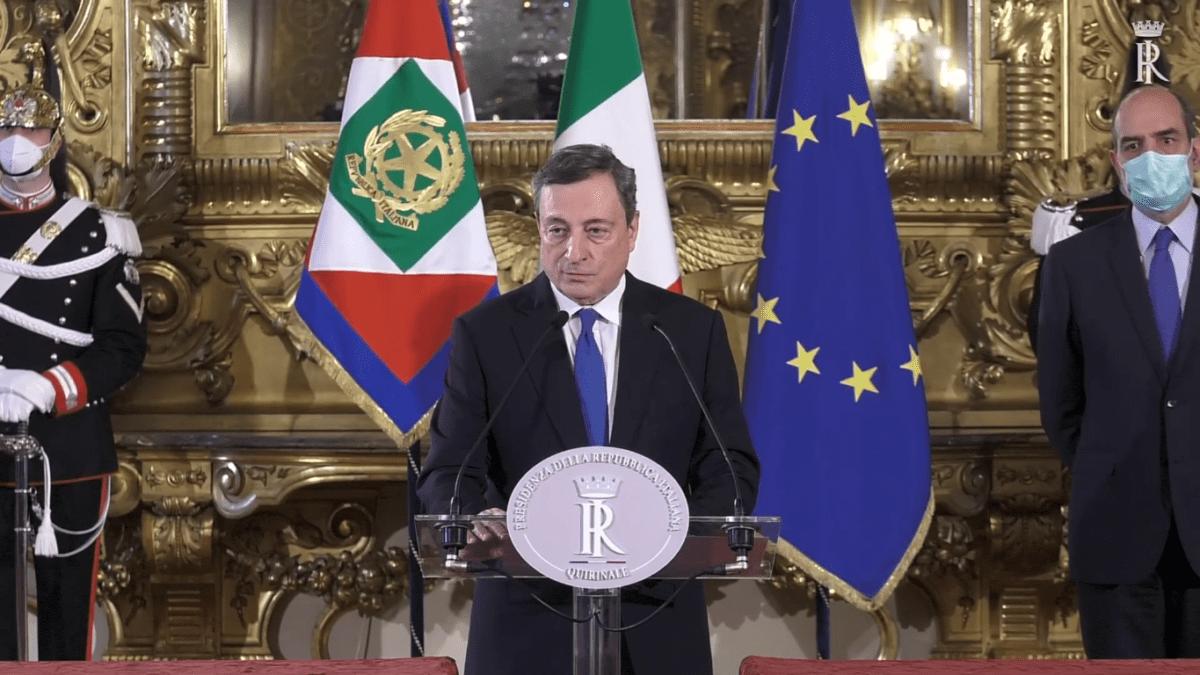 secondo giro consultazioni Draghi