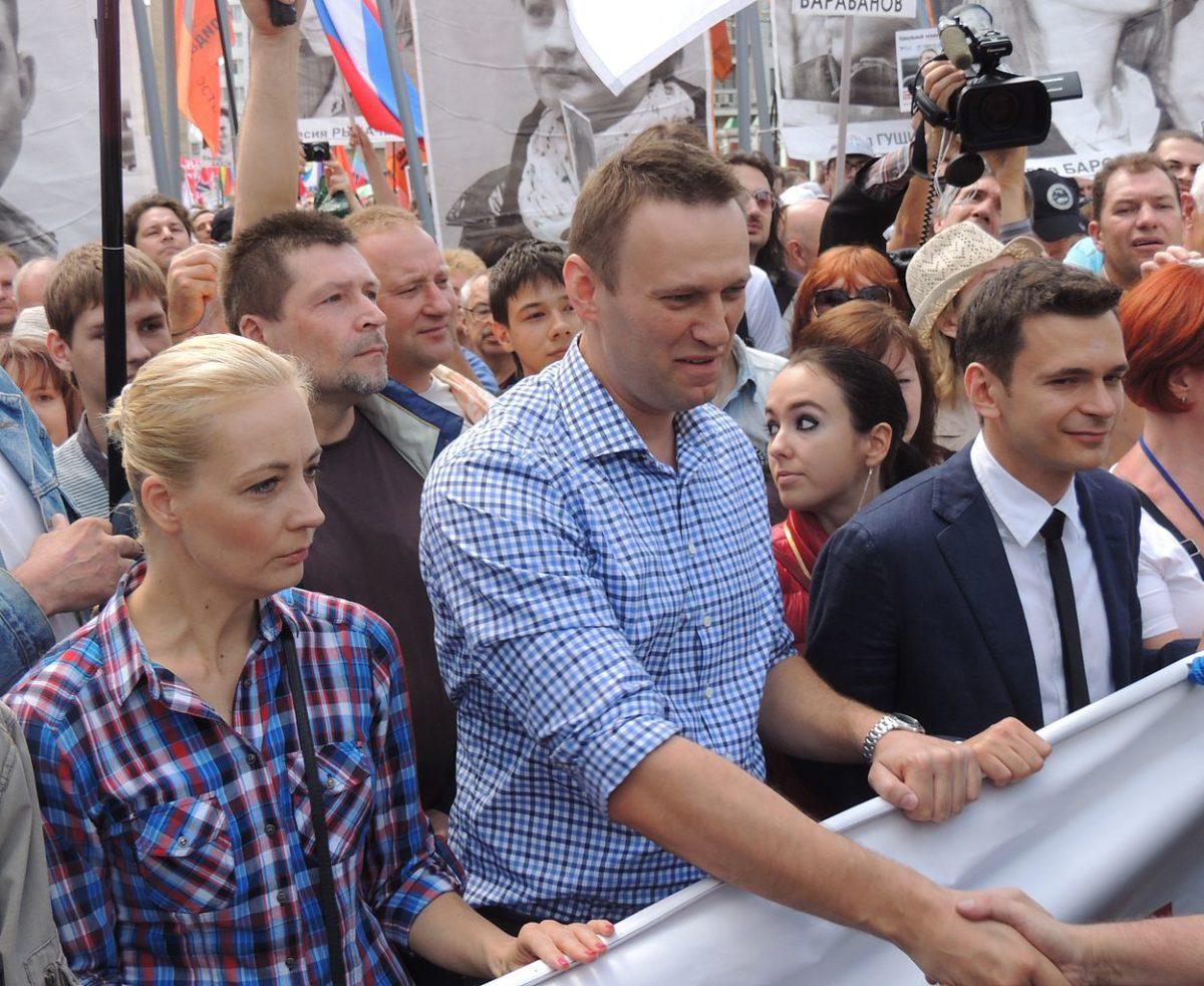 Navalnyj proteste anti Putin
