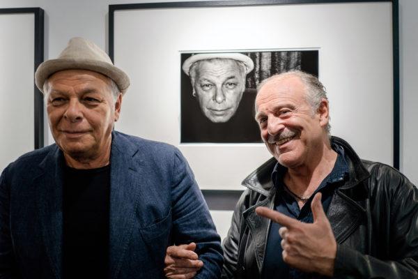 Augusto De Luca con Enzo Gragnaniello