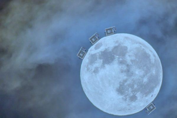 LGWA il nuovo progetto per misurare le onde gravitazionali dalla Luna