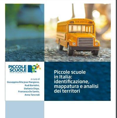 Piccole scuole in Italia: nuova ricerca