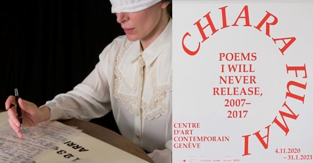 Chiara Fumai,Poems I Will Never Release