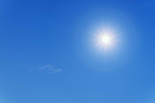Alta pressione e caldo in arrivo per la settimana di Pasqua
