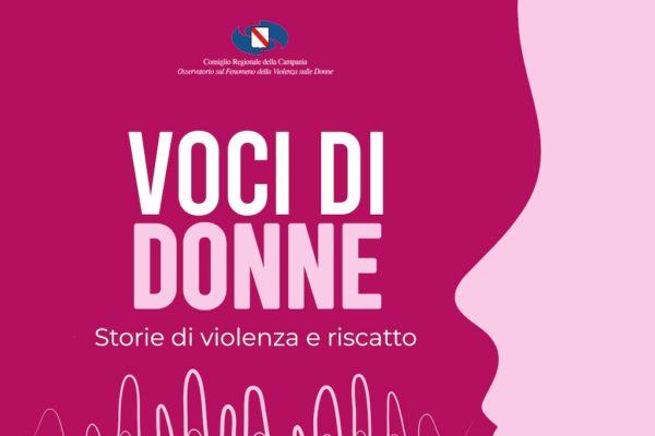 """""""Voci di donne"""", audio racconti contro la violenza di genere"""