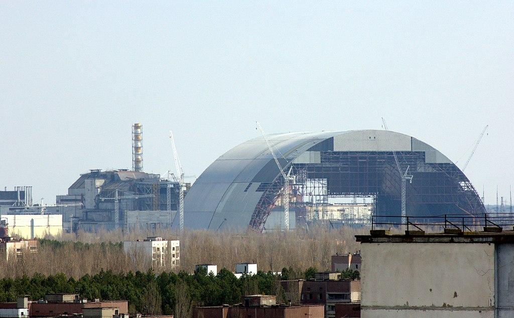 Il nuovo sarcofago di Chernobyl, 35 anni dopo
