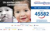 """Operation Smile lancia iniziativa solidale """"Dona una vita di Sorrisi"""""""