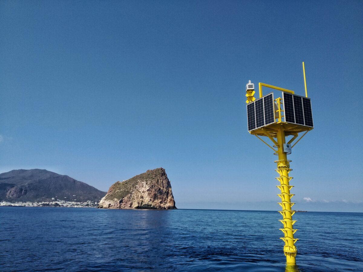 A Panarea operativo un nuovo sistema di monitoraggio sottomarino