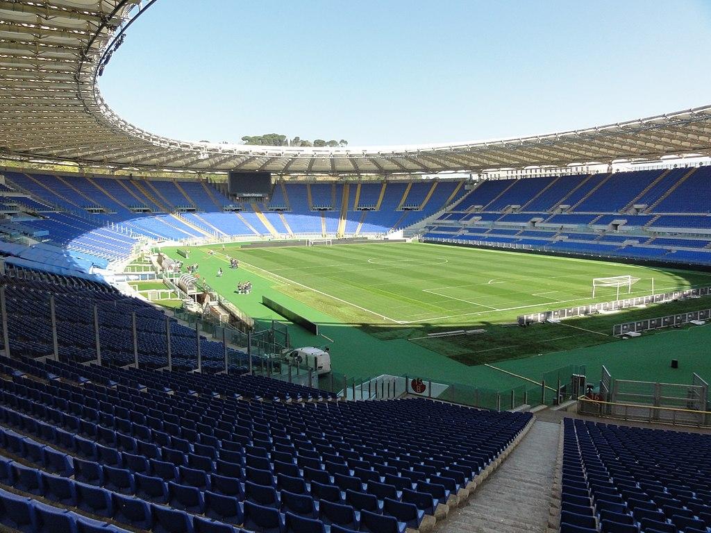 roma olimpico partite europeo