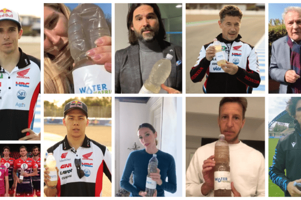 I grandi dello sport contro la carenza di risorse idriche nel mondo