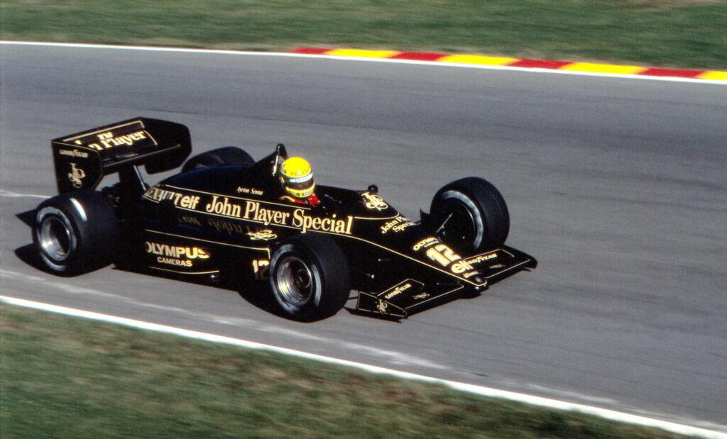 Senna in Lotus