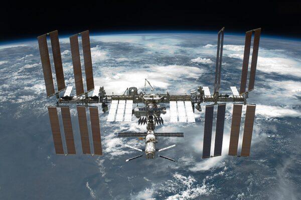 Il primo ciak spaziale, la stazione spaziale set cinematografico