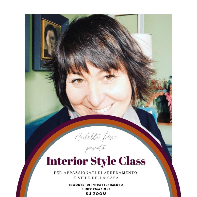"""Le""""Interior Style Class"""" dell'architetta Carlotta Pesce"""