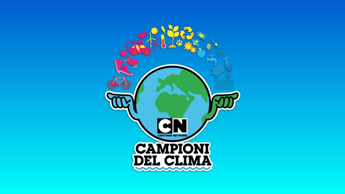 Campioni del clima: al via il progetto di Cartoon Network