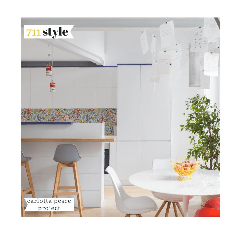 Carlotta Pesce è un architetta torinese che durante la pandemia ha creato L'Interior Style Class un progetto di formazione online rivolto a professionisti e appassionati del tema.
