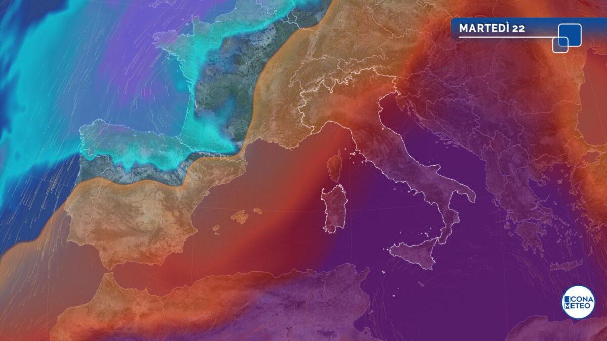 Insiste la fiammata africana: punte intorno ai 40 gradi