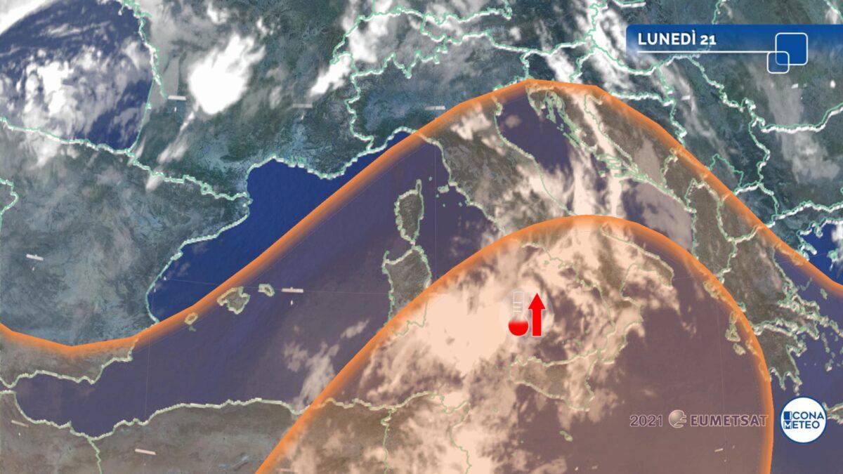 Inizio settimana rovente al Sud e Sicilia: punte di 40 gradi