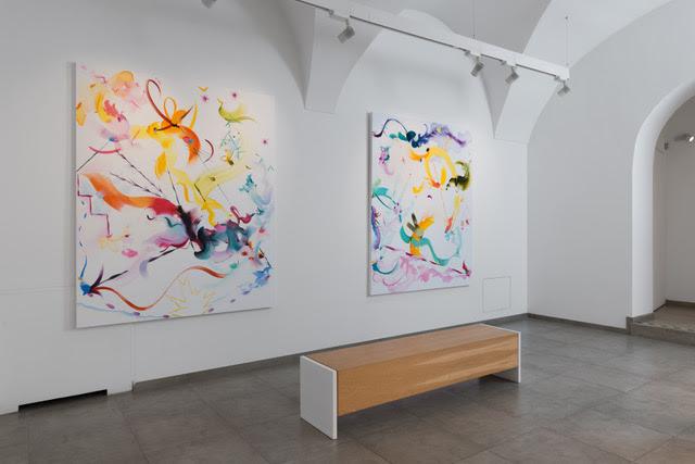 Voce al colore! Sei artisti britannici alla Galleria Mucciaccia