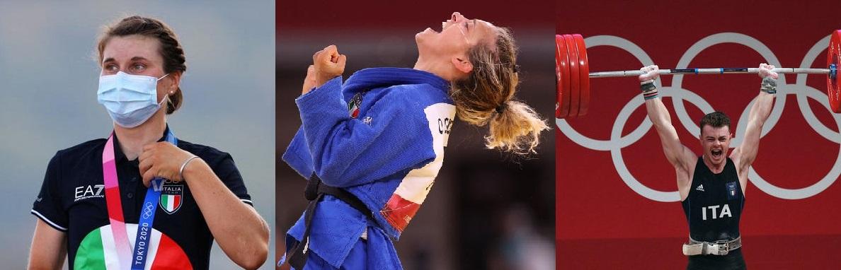 Altre tre medaglie per l'Italia, il programma azzurro per il 26 luglio