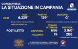 Positivi e vaccinati in Campania del 3 luglio