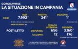 Positivi e vaccinati in Campania del 24 luglio