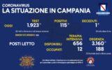 Positivi e vaccinati in Campania del 26 luglio