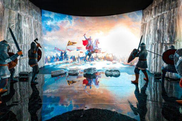 La prima grande mostra dedicata al russo Alexander Nevskij