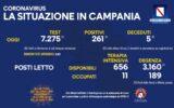Positivi e vaccinati in Campania il 23 luglio