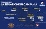 Contagiati e vaccinati in Campania il 9 luglio