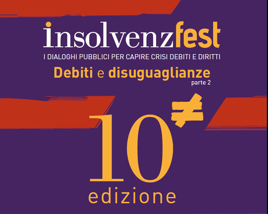 InsolvenzFest, il Festival su crisi, debiti e diritti