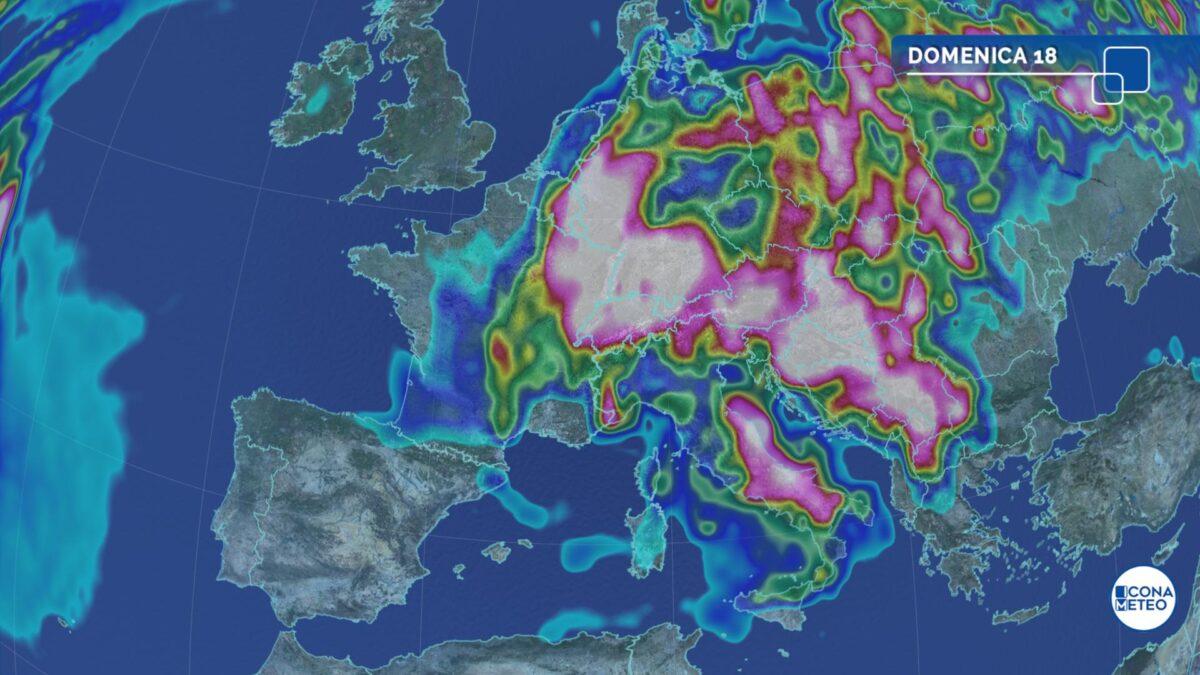 Forti temporali al Sud: da martedì fase più stabile e calda