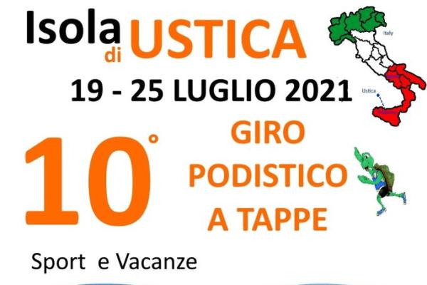 La decima edizione del Giro Podistico a tappe isola di Ustica