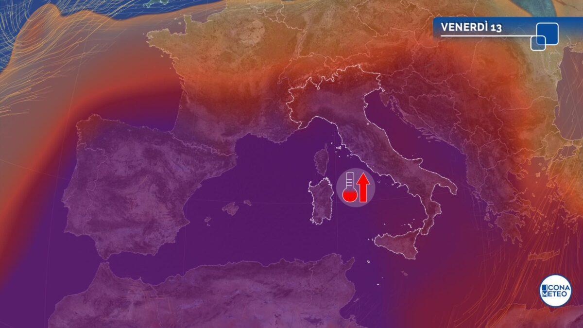 Caldo e afa sull'Italia, bollente anche il weekend di Ferragosto