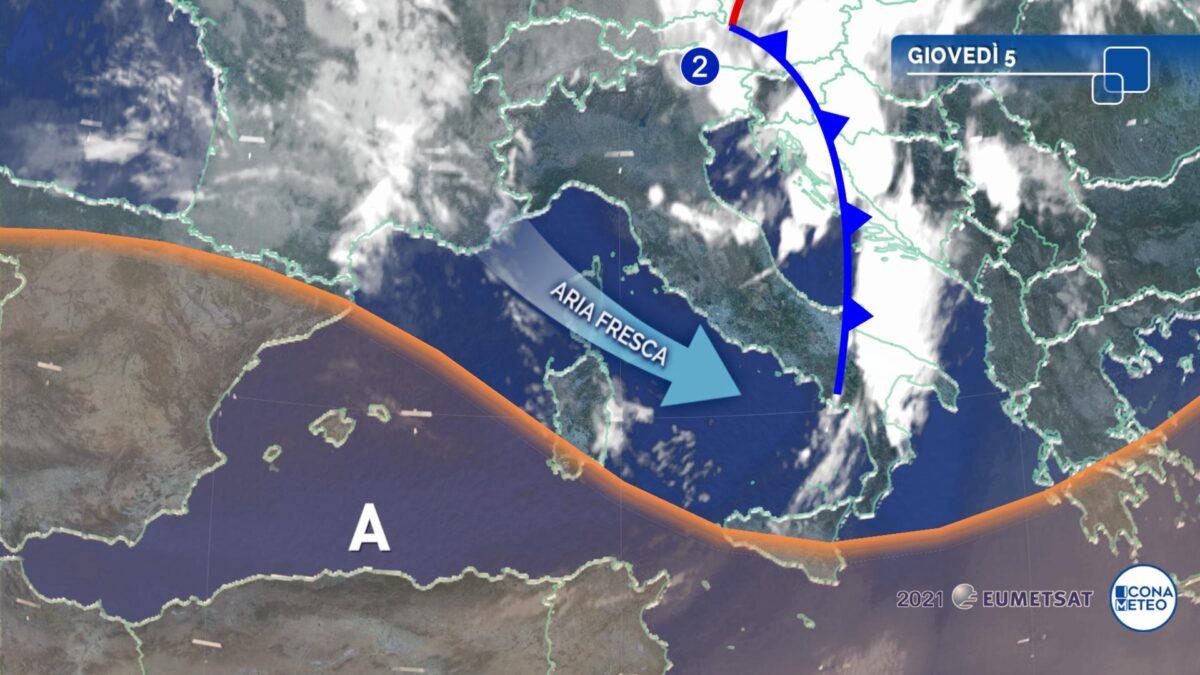 In arrivo una tregua dal maltempo al Nord e caldo al Sud