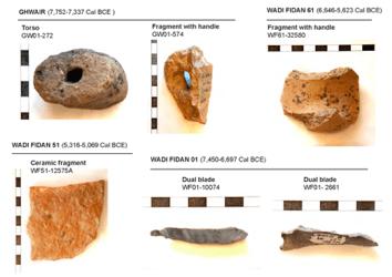 Selci preistoriche: ricostruito il campo magnetico tra 10.000 e 8.000 anni fa