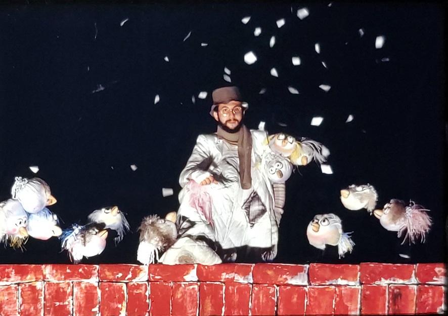La mostra di Tinin Mantegazza apre la stagione del Teatro del Buratto