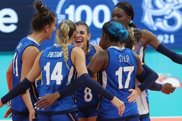 La vittoria all'europeo dell'Italia della pallavolo femminile