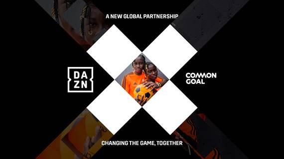 DAZN e Common Goal siglano una partnership a livello globale