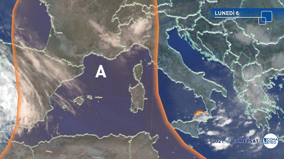 Temporali nel Sud Italia?