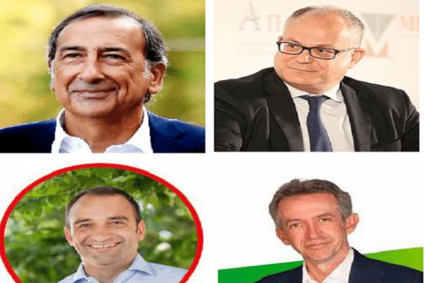 Nuovi sindaci di centrosinistra in tutta Italia