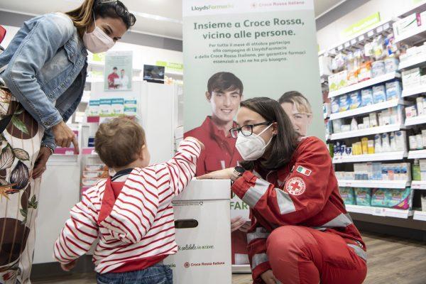 'Insieme a Croce Rossa, vicino alle persone'
