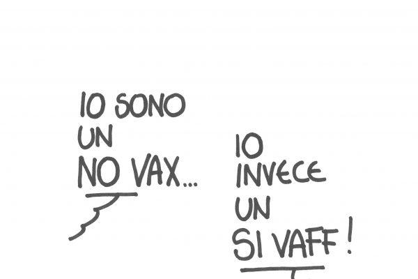 No vax Si vaff