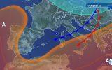 Atmosfera instabile al Centro-Sud: nel weekend piogge e calo termico
